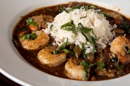 Bud's Louisiana Cafe - Southern Shrimp and Rice Dish