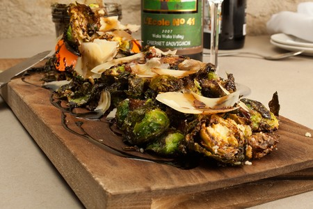 BO-beau kitchen + bar - Ocean Beach - Entree with Brussel Sprouts