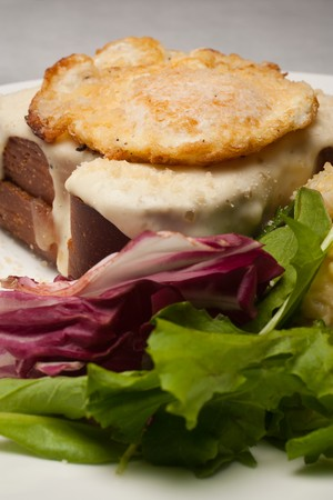 25 Forty Bistro and Bakehouse - Croque madame