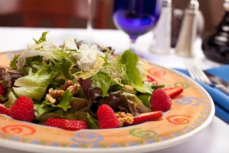 Trattoria Ponte Vecchio - Mixed Berries Salad