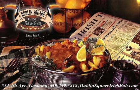 Dublin Square Irish Pub - Authentic Irish Fish & Chips