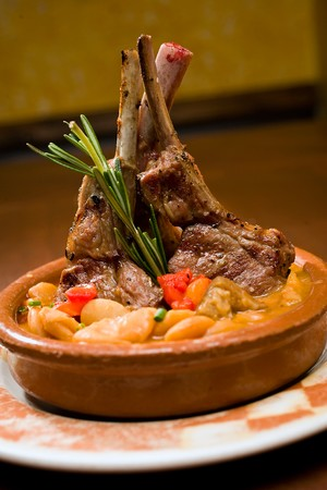 Cafe Sevilla - Lamb chops Madrilenas