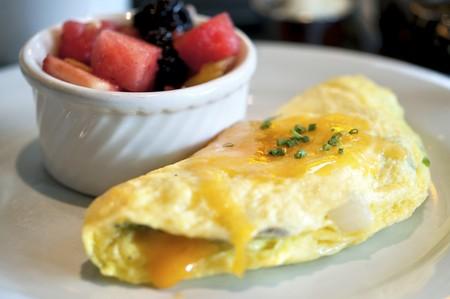 McCormick & Schmick's - Omelette & Fruit