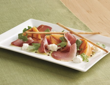 McCormick & Schmick's - Seasonal Grilled Melon with Prosciutto