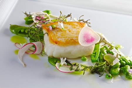 NINE - TEN - Pan Roasted Alaskan Halibut