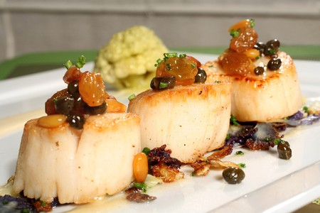 NINE - TEN - Sous Vide Scallops
