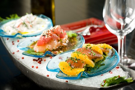 Alma de Cuba - Selection of Seafood