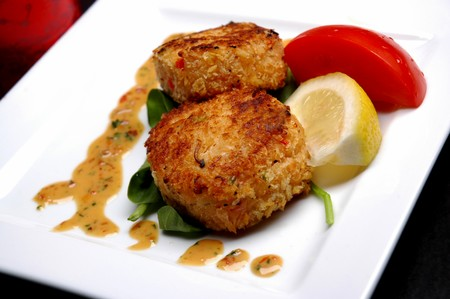 Top of the Market - crab cake