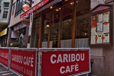 Caribou Café - Outside Seating