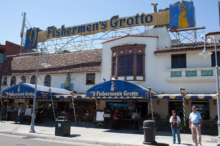 No 9 fishermen 39 s grotto restaurant info and reservations for Fishing store san francisco
