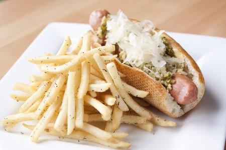 Table 926 - Smoked Bratwurst