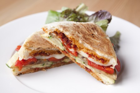 Table 926 - Grilled Eggplant Panini