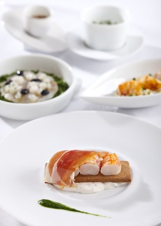 TWIST by Pierre Gagnaire - Langoustine Lobster
