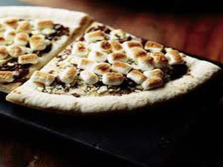 Max Brenner - Marshmallow Pizza