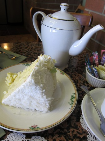 Sweet Lady Jane - Coconut Cake and Tea