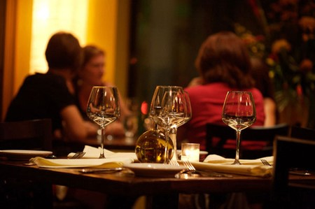 Olivetto Ristorante & Wine Bar - Table & Dishes