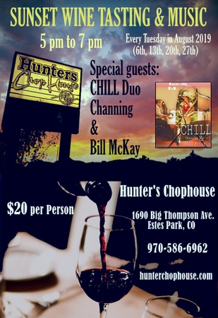 Hunter's Chophouse - Wine tasting and Music