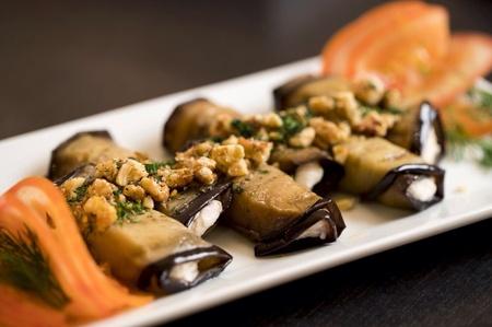 Pushkin Russian Restaurant - Eggplant rolls