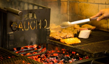 "Gaucho Brazilian Grille - ""Parrilla style"" wood fired grill"