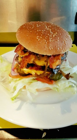 Lauren Pigott - Double slider burger