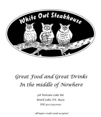 The White Owl Steakhouse - The White Owl Steakhouse