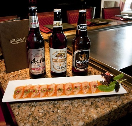Hokkaido Teppanyaki Hibachi Steakhouse - Beer