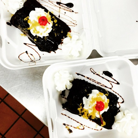 Hokkaido Teppanyaki Hibachi Steakhouse - Chocolate Cake