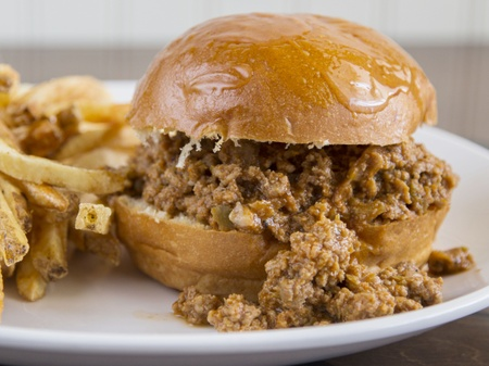 The Oak Room Kitchen & Bar - Wild Boar Sloppy Joe