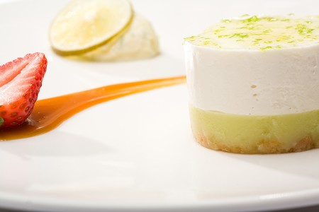 Tapenade - Key Lime Cheesecake Bavarois
