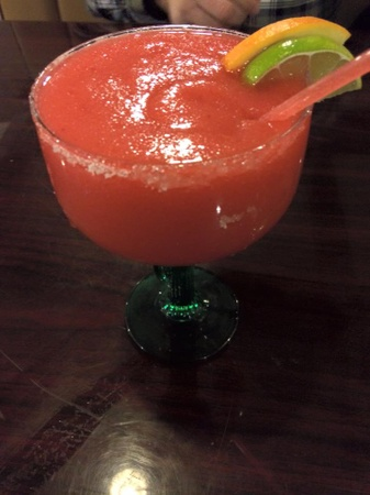 Don Emliano's Restaurante Mexicano  - Strawberry margarita