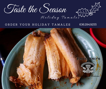 Don Emliano's Restaurante Mexicano  - Season for tamales