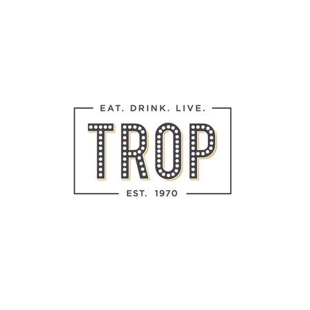 The Trop Bar & Grill - Logo