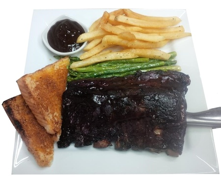 The Q Restaurant - Baby Back Ribs
