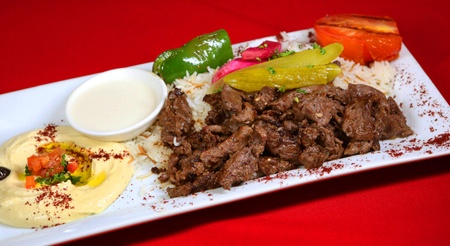 The Olives Branch - Beef Shawarma