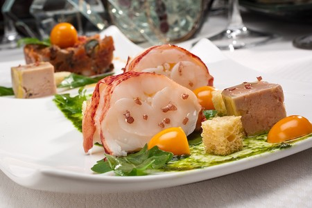 Alize - Maine lobster and chilled foie gras