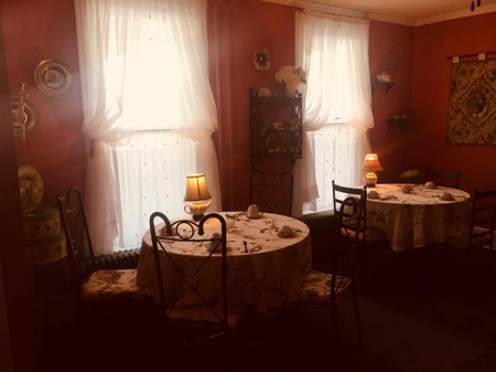 Steeped Tea Cafe - Pink Room