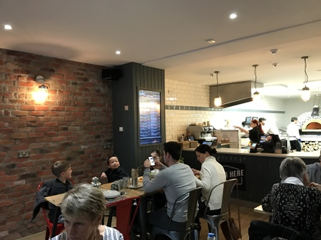 Nonnas Wood Fired Pizzas - Spencer Rd - Interior