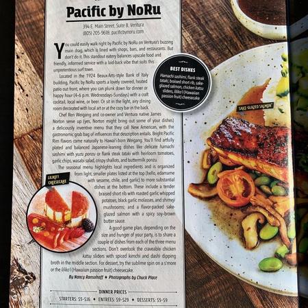 Pacific by NoRu - Westways Article