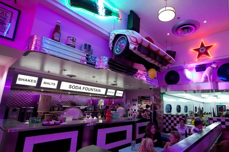 Corvette Diner - soda fountain