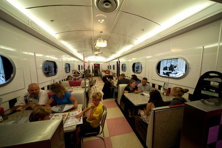 Corvette Diner - dining area