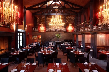 Cafe La Boheme - Main dining room