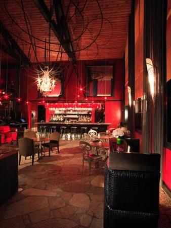 Cafe La Boheme - Front Entry Bar