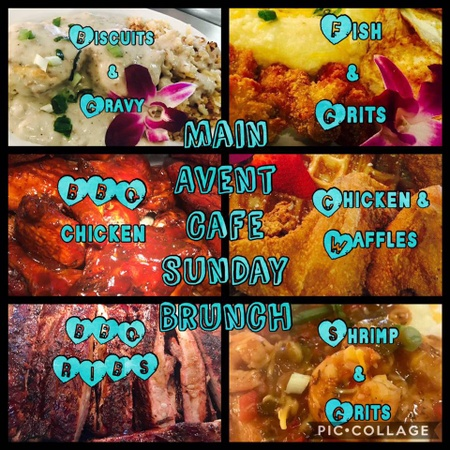 Main Avent Cafe and Catering - Main Avent Soulful Sunday Brunch (BBQ)
