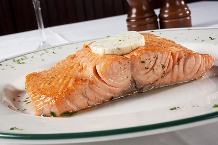 The Palm - West Hollywood - Salmon & Butter