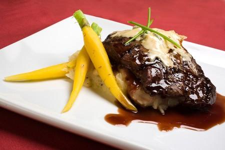 Terra American Bistro - Grilled Flat Iron Steak