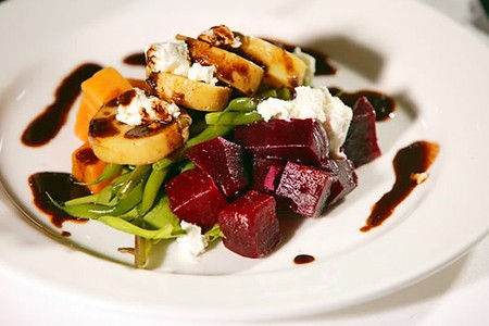 Parkway Grill - Marinated Beet and Watercress Salad