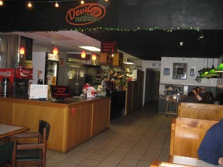 Devine Pastabilities - restaurant interior