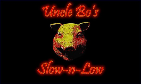 Uncle Bo's Slow-N-Low BBQ - Logo