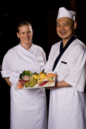 Sally's Seafood on the Water - Chef Sarah Linkenheil and Chef Kaz