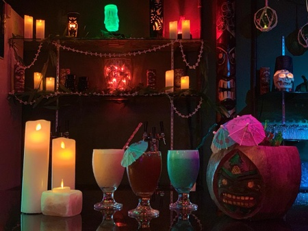 Forbidden Cove - Tiki Drinks